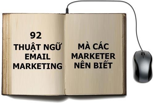 92 thuật ngữ email marketing thường gặp
