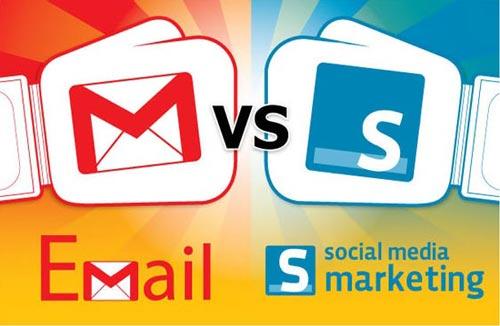 Email marketing đọ sức với Social media marketing