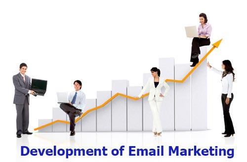 Sự phát triển của email marketing