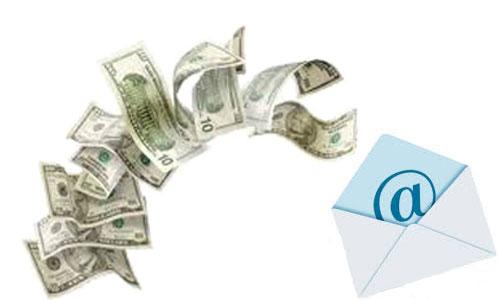 Kiếm tiền qua email