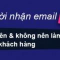 Khách hàng hủy đăng ký nhận email