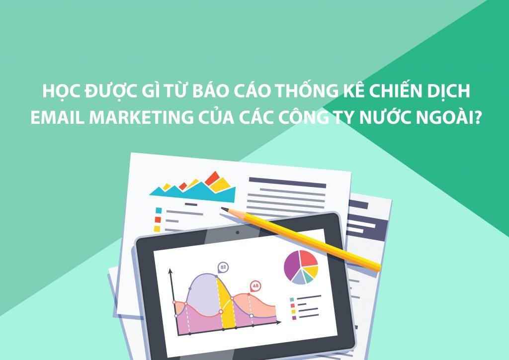 bài học từ báo cáo thống kê chiến dịch Email Marketing của các công ty du lịch nước ngoài