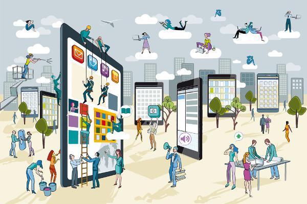 Thế giới số mang khiến khách hàng thay đổi cách giao tiếp - xu hướng Marketing 2019 - zetamail