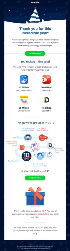 Tối ưu email marketing cuối năm
