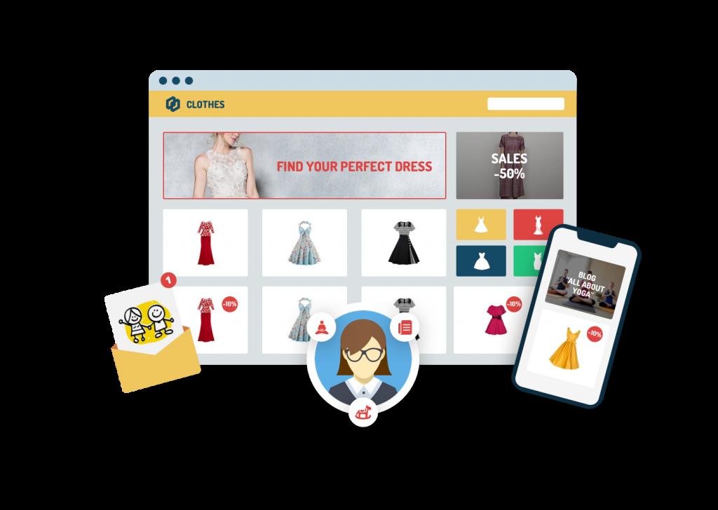 Email marketing + Retargeting giúp lôi kéo khách hàng quay trở lại trang web
