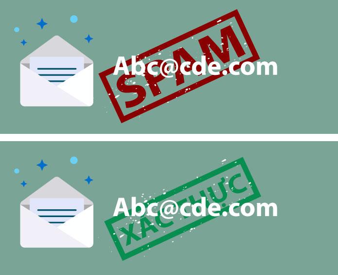gửi email tránh spam