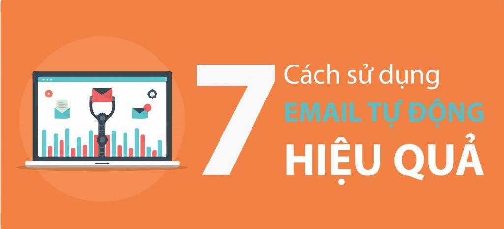 7 cách sử dụng email tự động hiệu quả
