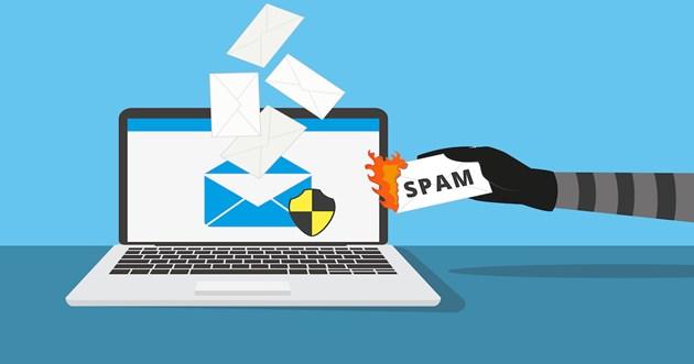 Lỗi khi gửi email - email rác, chuyển tiếp