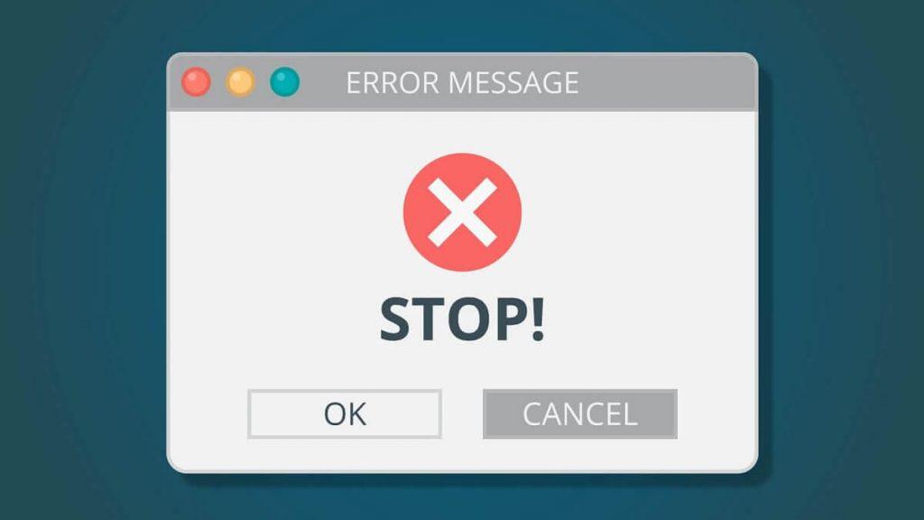 lỗi email bị cấm chuyển tiếp