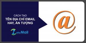 cách tạo tên địa chỉ email hay ấn tượng