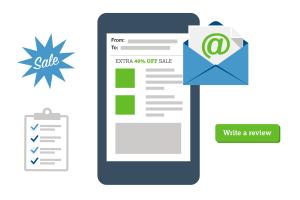 Mẫu email marketing ấn tượng gửi khách hàng