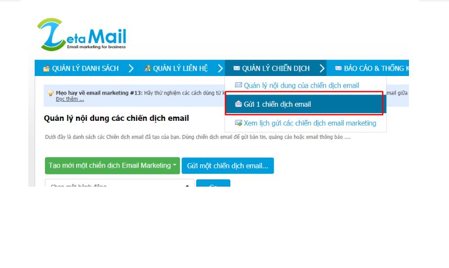 Cách gửi email marketing hàng tuần