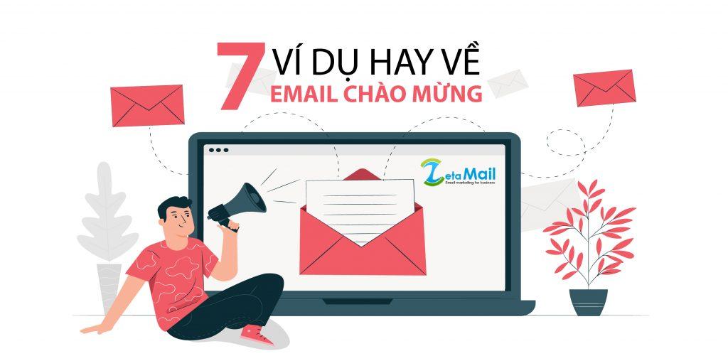 7 mẫu email chào mừng