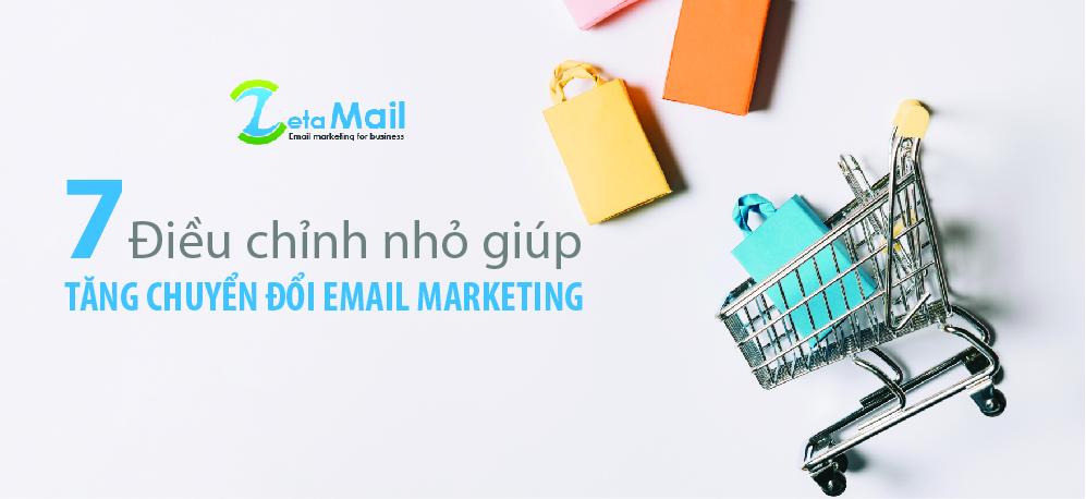 tăng chuyển đổi email marketing