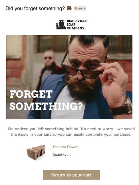Abandoned Cart Emails: Email giỏ hàng bị bỏ quên - Zetamail