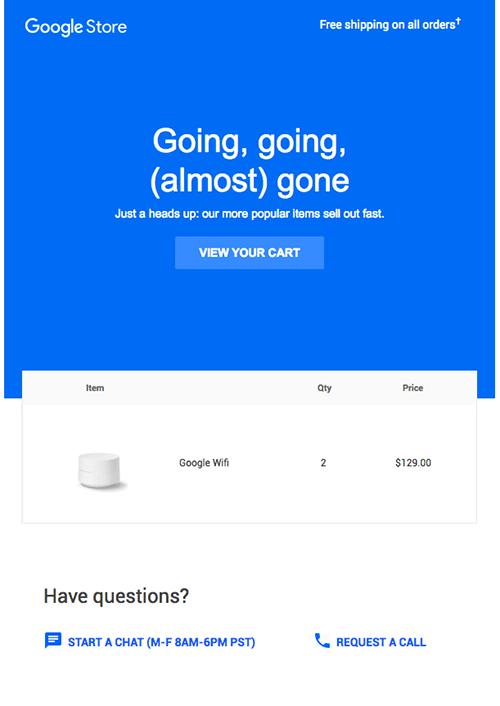 vi du email google