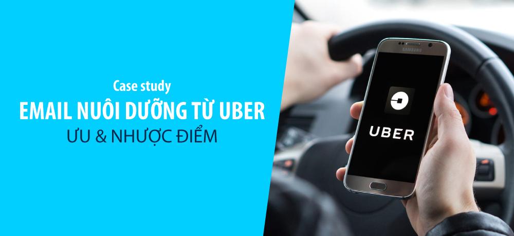 email nuôi dưỡng khách hàng tiềm năng của Uber