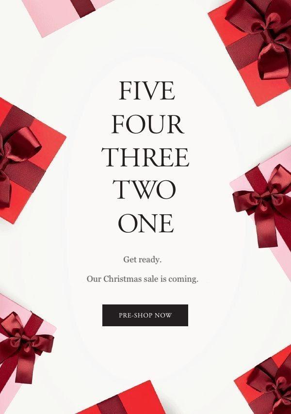 Email Marketing mua Noel