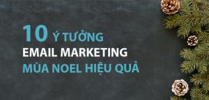 Email Marketing mùa Noel